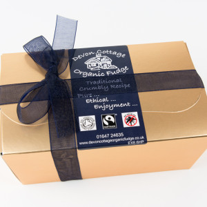 Devon Cottage Organic Fudge Corporate Gifts