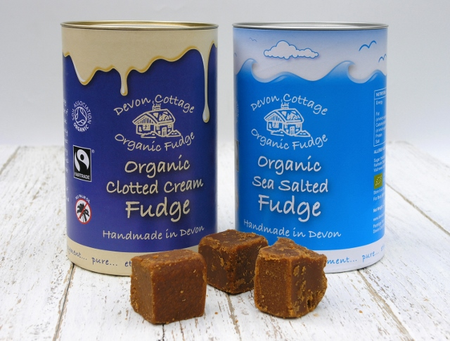 New Fudge Tubes in Clotted Cream and Sea Salted