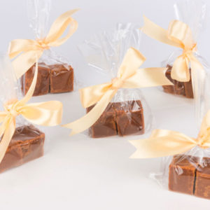 Devon Cottage Organic Fudge Wedding Favours width=